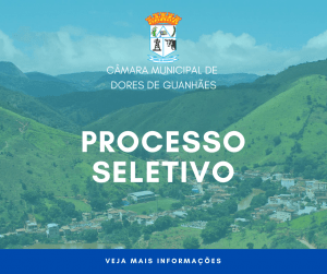 Convocação – Processo Seletivo 01/2021